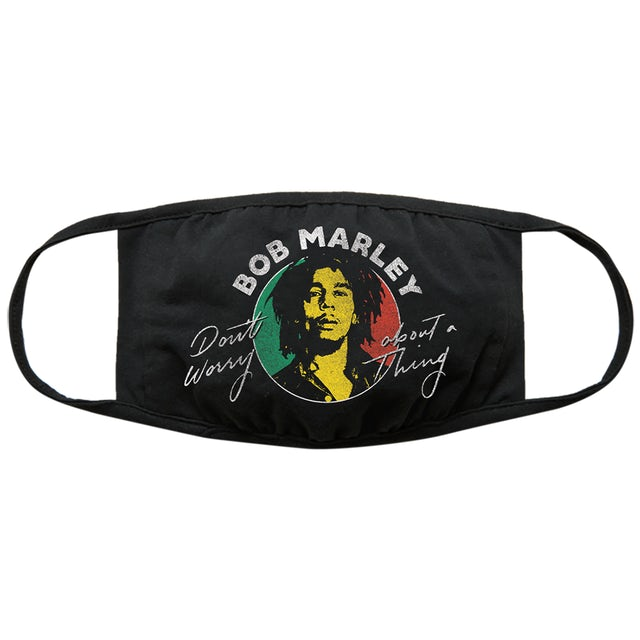 Bob Marley Don't Worry Face Mask