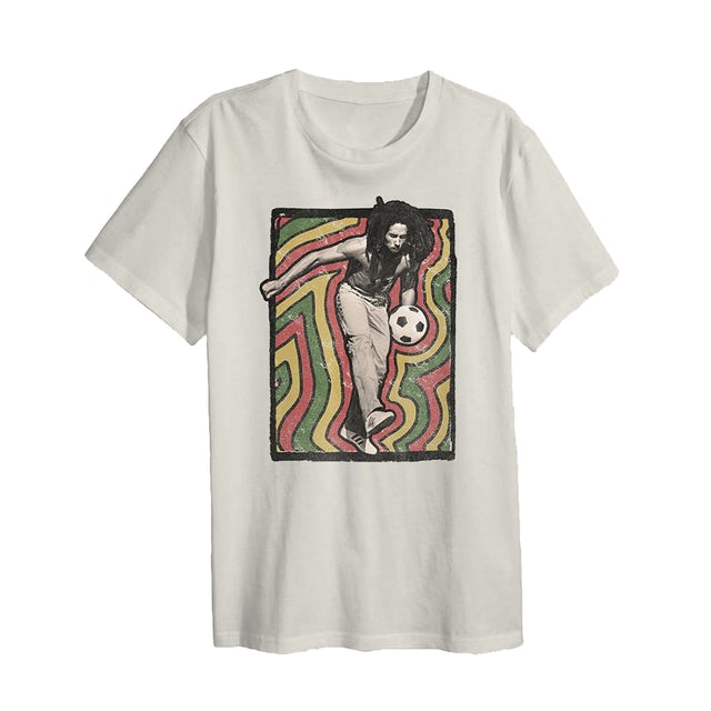 Bob Marley Soccer Vibrations T-Shirt