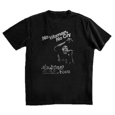 Bob Marley No Woman No Cry in London Black T-Shirt