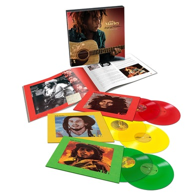 Bob Marley Songs Of Freedom Limited Edition Colored 6LP Box (Vinyl)