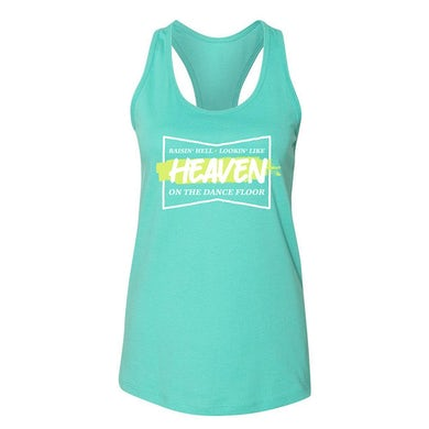 Jon Langston Raisin' Hell Women's Racerback Tank