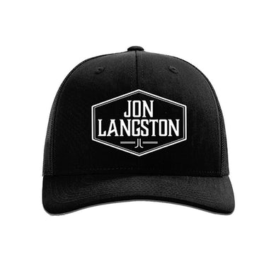 Jon Langston Logo Trucker