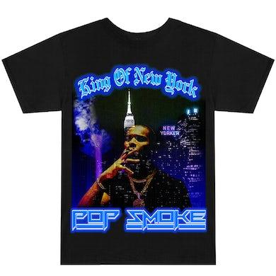 Pop Smoke King of New York Black T-Shirt