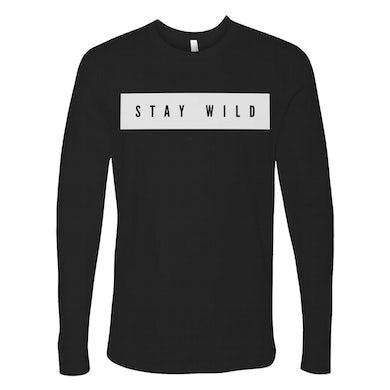 Kip Moore Stay Wild Black Logo L/S