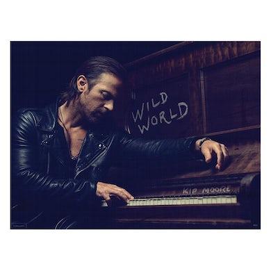 Kip Moore Wild World Deluxe Poster