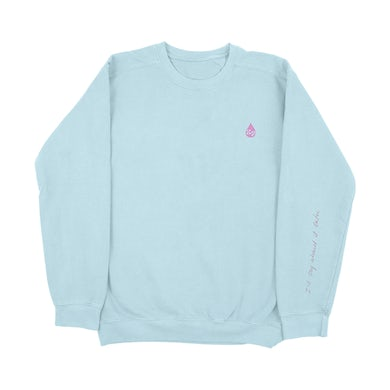 Katy Perry Cry About It Later Blue Crewneck