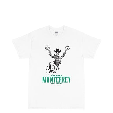 Guaynaa MONTERREY WHITE T-SHIRT