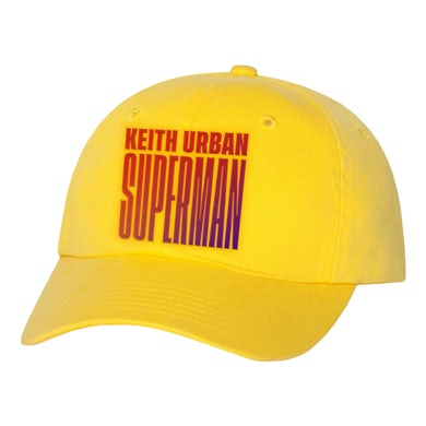 Keith Urban Superman Hat