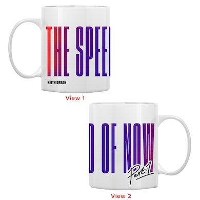 Keith Urban THE SPEED OF NOW PART 1 Logo Coffee Mug (White)