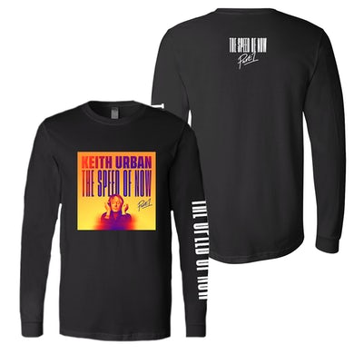 Keith Urban THE SPEED OF NOW Long Sleeve T-Shirt