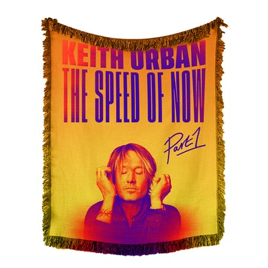 Keith Urban THE SPEED OF NOW Woven Tapestry Throw Blanket