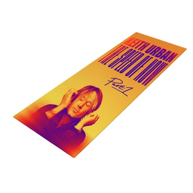 Keith Urban THE SPEED OF NOW Yoga Mat