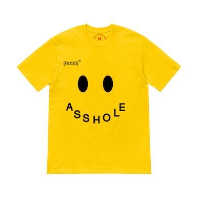 Russ Asshole Tee (Yellow)
