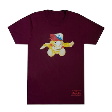 Beastie Boys Cookie Puss Maroon T-Shirt