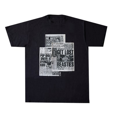 FACT x Beastie Boys Tabloid Black T-Shirt