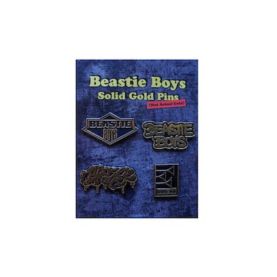 Beastie Boys Gold Pin Set