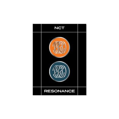 NCT 'Resonance' Metal Badge Set