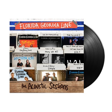Florida Georgia Line The Acoustic Sessions Vinyl