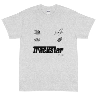 Mooski Track and Field Star Athletic T-Shirt