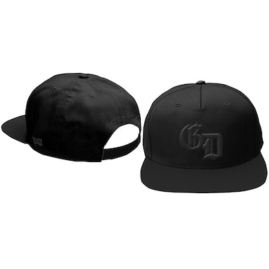 Green Day Blacked Out Logo Snapback