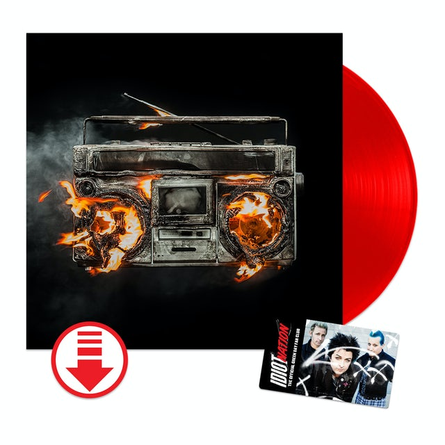 Green Day Revolution Radio Limited Red Vinyl + Fan Club
