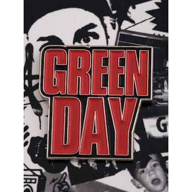 Green Day Mask Enamel Pin Set