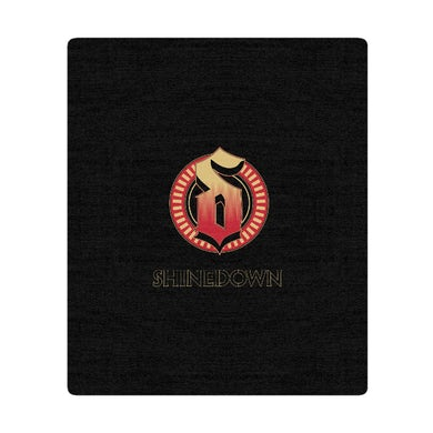 Shinedown Burst Emblem Blanket