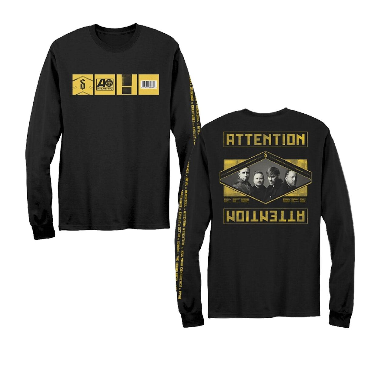 03aeac4b Shinedown Album Statement Long Sleeve T-Shirt
