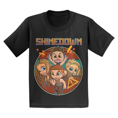 Shinedown Tuff Kids T-Shirt