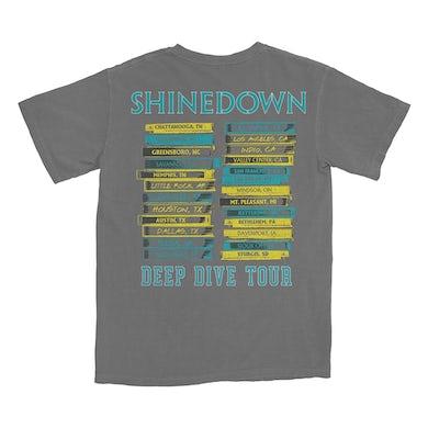 Shinedown Deep Diver Covers T-Shirt