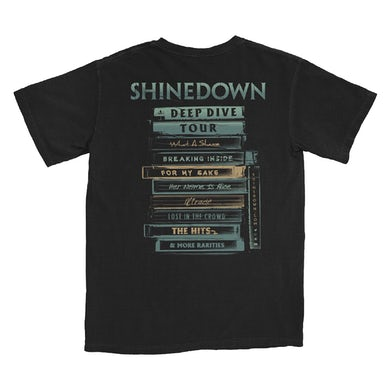 Shinedown Deep Divers T-Shirt