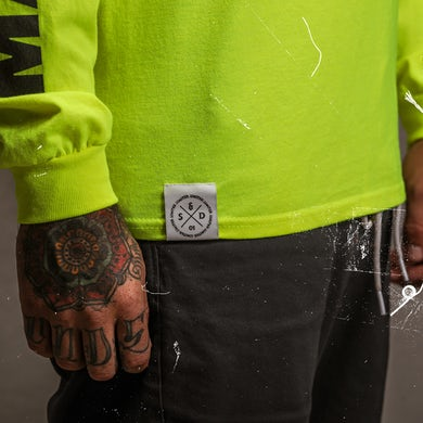 Shinedown Sound of Madness Long Sleeve (Neon)