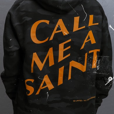 Call Me A Saint Hoodie (Black)