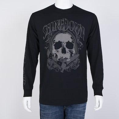 Shinedown Pocket Knife Skull Long-sleeve Shirt