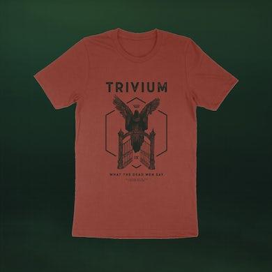 Trivium Angel Gates T-shirt (Rust)