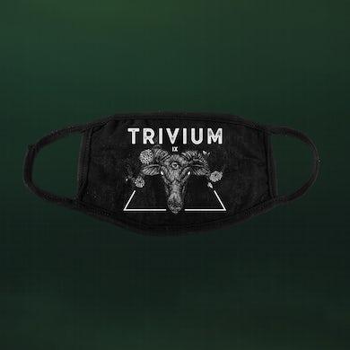 Trivium Rams Head Face Mask