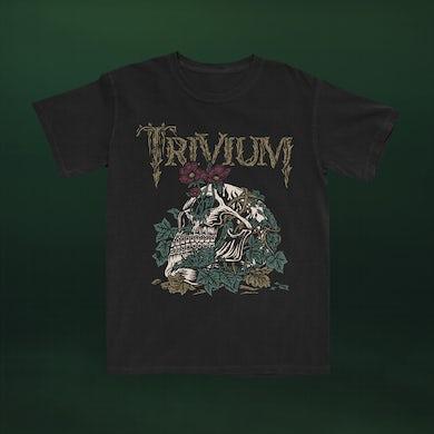 Trivium Skelly Flower T-shirt