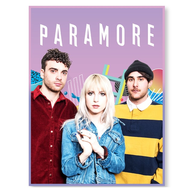 Paramore Elements Poster