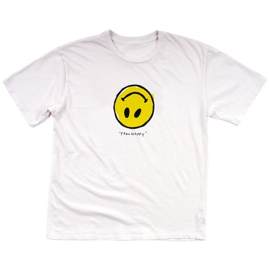 Paramore Fake Happy T-Shirt (White)