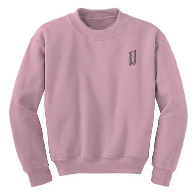 Paramore Bars Crewneck (Light Pink)