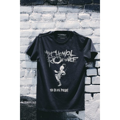 My Chemical Romance THE BLACK PARADE DISTRESSED T-SHIRT