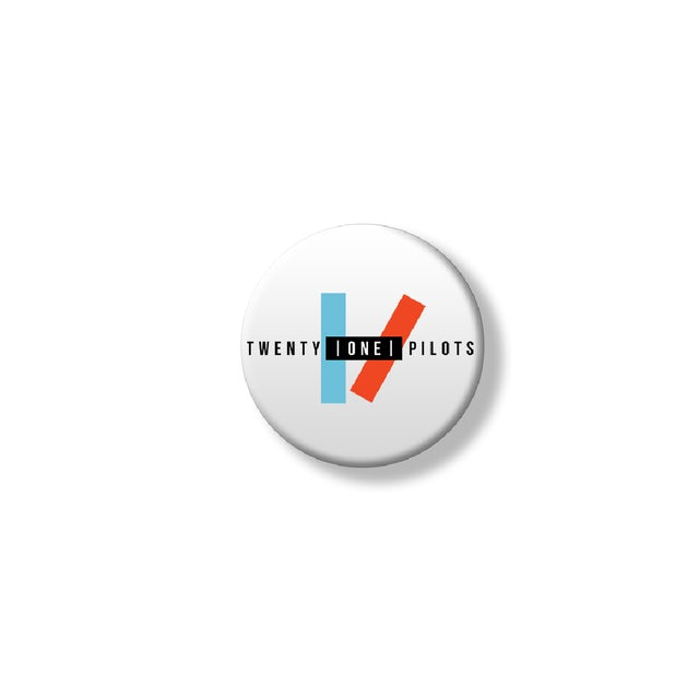 Twenty One Pilots Logo Button