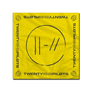 Twenty One Pilots Yellow Logo Bandana