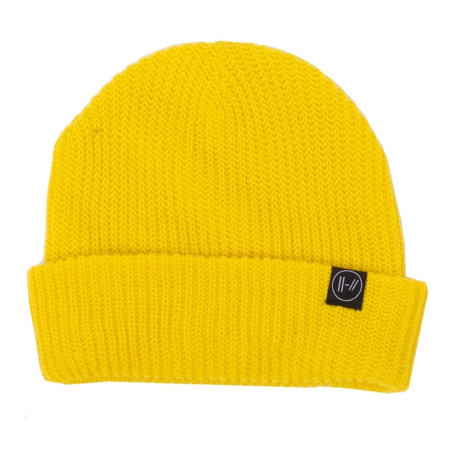 Twenty One Pilots Logo Beanie (Yellow)