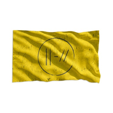 Twenty One Pilots Circle Slash Flag