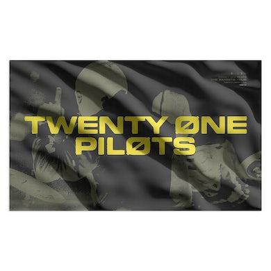 Twenty One Pilots Skulls Flag