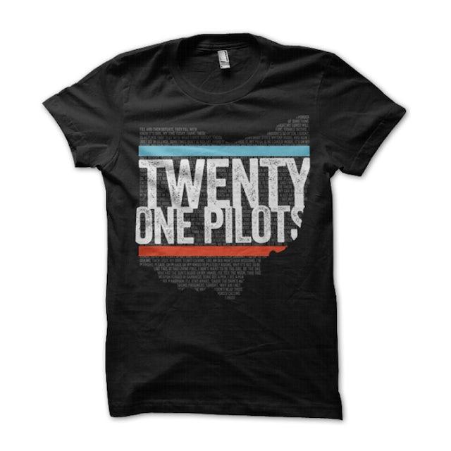 Twenty One Pilots Ohio Stripes T-Shirt