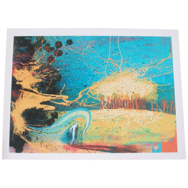 The Flaming Lips Cosmic Autumn Lithograph