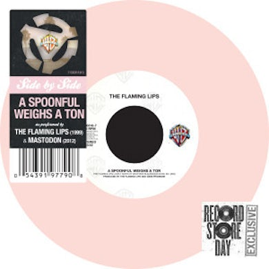 The Flaming Lips/ MASTODON 'A SPOONFUL WEIGHS A TON' (RSD Release)