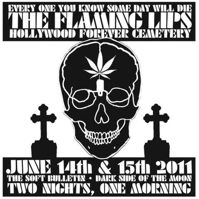 The Flaming Lips The Hollywood Cemetery Skull